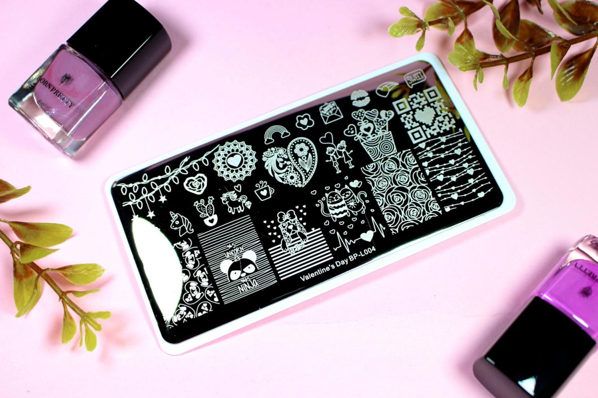 blogueira de moda e beleza unhas preto e rosa como usar Passo a passo: Aplicação de Nail Stamp