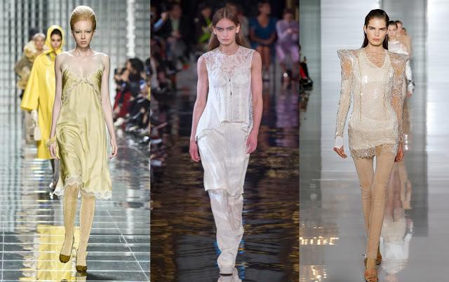 lingerie fashion Marc Jacobs, Stella McCartney, Balmain
